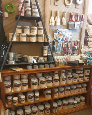 LOCKDOWN TIME = PROJECT TIME  Call in to us for click and collect or call to inspect your needs to start, revisit or finish your chalk paint and sewing project  Get Inspired and call Katherine at Dungog 0429694506  #inspiredliving #lockdownchallenge� #chalkpainting #dungog #behappy #makersgonnamake
