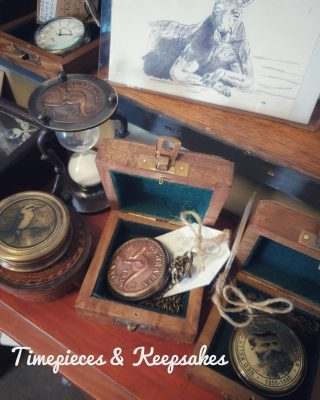 Gorgeous and Interesting  Cherished items found in store at INSPIRED by design Dungog include these Australiana inspired fob watches, compasses all handcrafted.  Also find frameable cards from our local artist Mich Nickerson ❤  Open Today through to Monday 10 to 3ish x  #shoplocal #australiana #dungog #vintagestyle #heritage #inspiredbydesign #somethingspecial #lovelife #homewarestore #compass #fobwatch #vintageworld